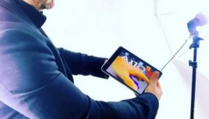 magicien ipad animation numérique et digitale à Lyon
