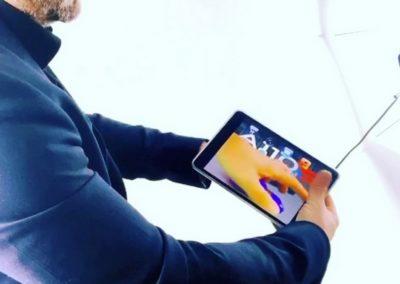 prestation magie ipad tour de magie digitale et numérique