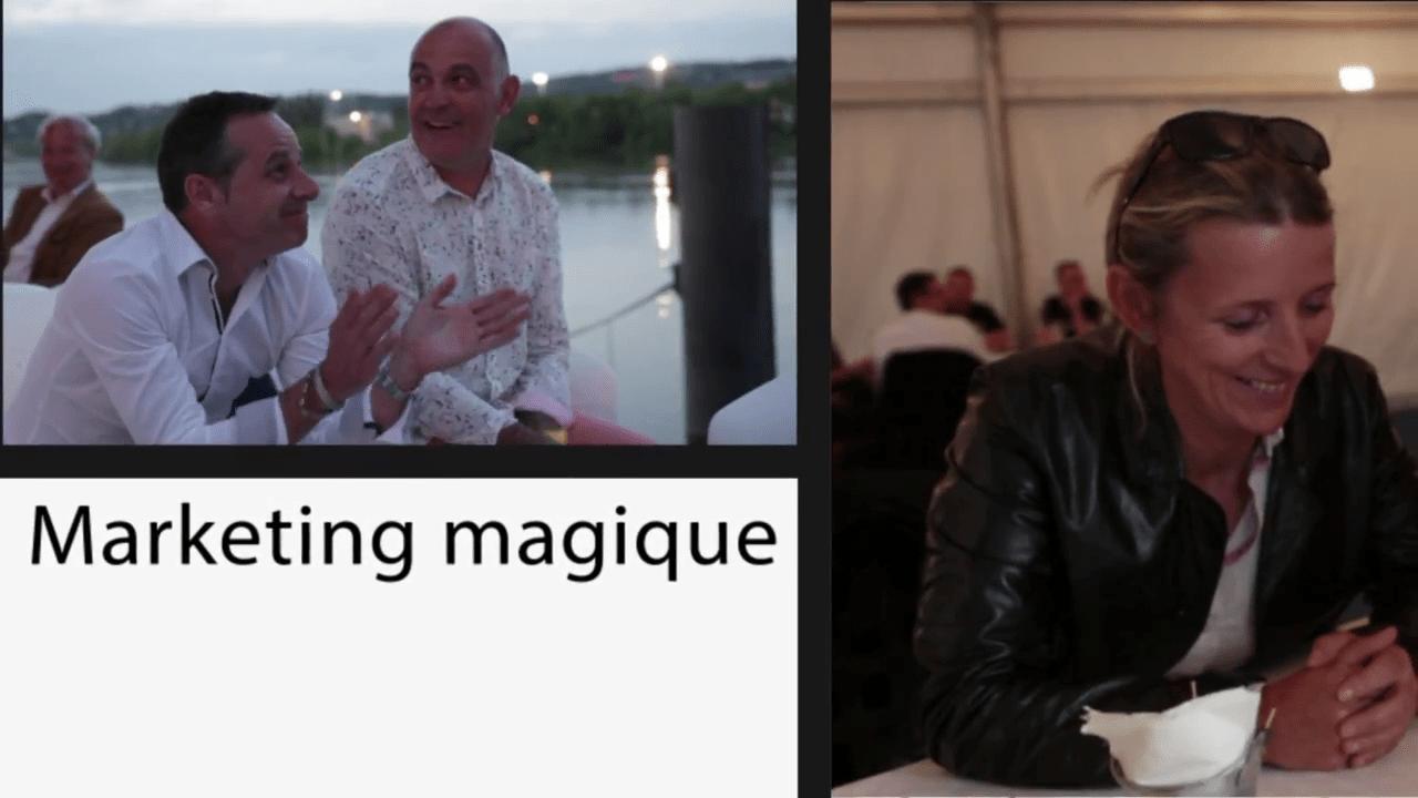 Magicien soirée de gala soirée entreprise